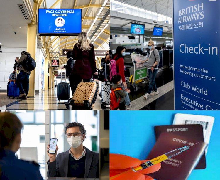 ABD Seyahatlerinde, Uluslararası Aşı Pasaportunu Destekliyor